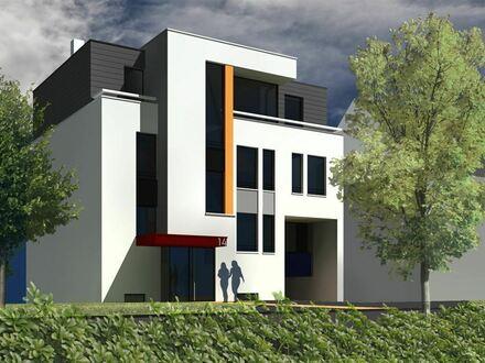 Villa im Bauhausstil! 3 X 4-Raum ETW, Tiefgarage, Ladeeinrichtung für E-Auto, NEUBAU 2020!