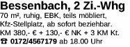 Wohnung 70m² Bessenbach