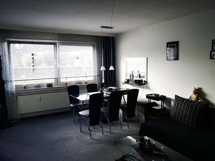 Gemütlich: zentrale EG-Wohnung, Südbalkon & Garagenplatz