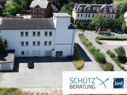Produktionsgebäude: solide, flexibel, verkehrsgünstig gelegen und erweiterbar!