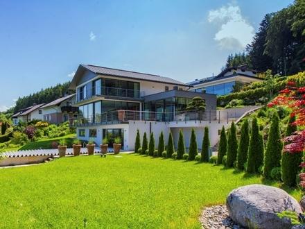 MATTSEE NÄHE SALZBURG: Lichtdurchflutete Luxusvilla mit viel Platz für die Familie!