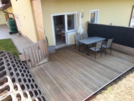 Sonnige 4 Zimmer-Whg. mit Garten-Terasse u. Irrseeblick