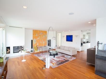 Sie stellen Ansprüche, wir bieten außergewöhnliches: Designer Penthousewohnung in bester Lage Döblings!