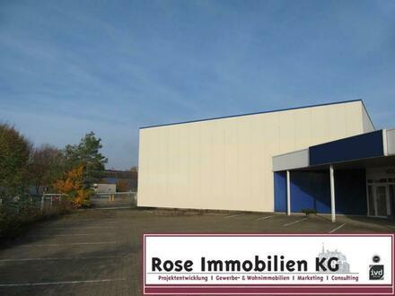 ROSE IMMOBILIEN KG: 2-geschossige Lager-/Produktions-/Ausstellungshalle!