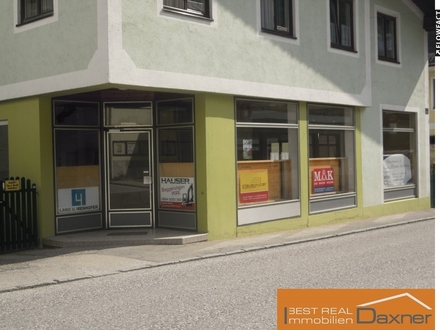 Geschäftslokal in gut frequentierter Lage von Ebensee!!