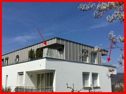 Penthouse-Wohnung mit aussergewöhnlicher Aussicht!