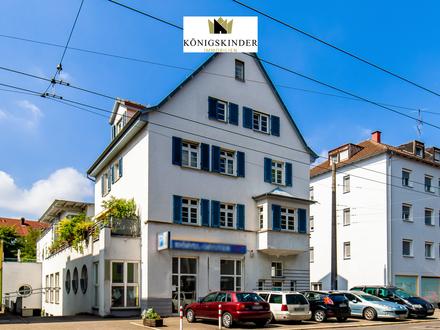 450 qm Gewerbefläche in gepflegtem Wohn- und Geschäftshaus inkl. 9 TG-Stellplätze ES-Hegensberg