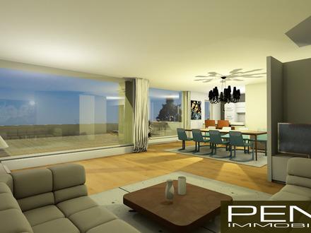 LEONDING: Penthouse mit Westterrasse