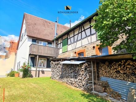XXL- Haus-XXL- Möglichkeiten m. Potenzial,Werkstatt,Stall,Garten, Gewölbe 163 qm Wfl.,129 qm Nutzfl.