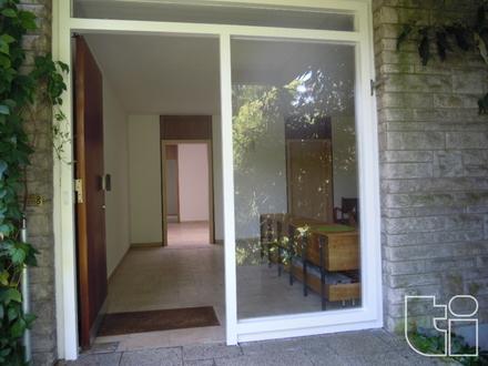 Idylische 2 Zimmer Bungalowwohnung mit Terrasse und Garage