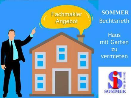 Einfamilienhaus Bechtsrieth zur Miete by SOMMER
