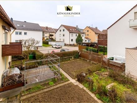 Ditzingen 3-Zi. Wohnung: Balkon, Garten, 2 Min. zu S-Bahn, sofort frei