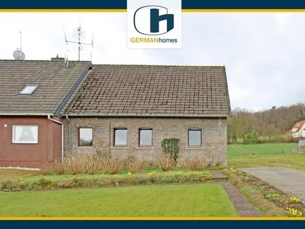 PROVISIONSFREI für Käufer – Entkerntes Haus m. Potential auf gr. Baugrundstück in Tecklenburg-Leeden