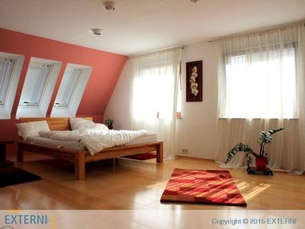 Möblierte Maisonette-Wohnung mit großer Dachterrasse in Söflingen