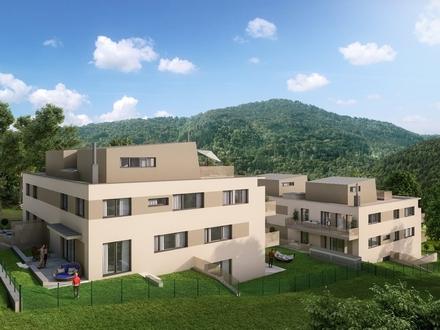 Süd/West/Nord-Ausrichtung - Top Gartenwohnung in Purkersdorf