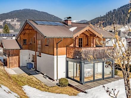 Gemütliches Einfamilienhaus in sonniger Aussichtslage von Eben im Pongau