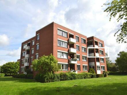 Kapitalanlage oder Selbstnutzung! Top gepflegte 3-Zimmer-Wohnung mit Balkon und Stellplatz in Emden (OT Larrelt)
