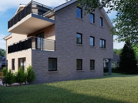 Moderne KfW 55 Neubau Wohnung im Erdgeschoss mit 3 Zimmer großem Garten in Oldenburg/Osternburg