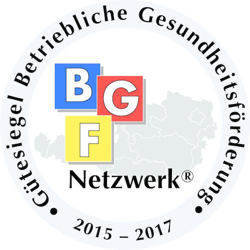 BGF Gütesiegel Gebietskrankenkasse