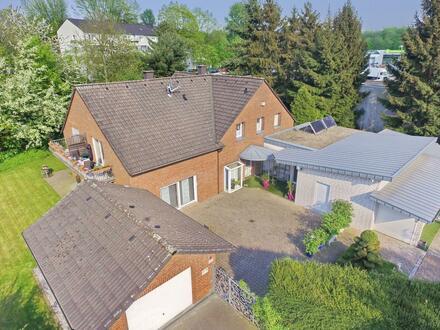 2x EG wird frei: 4-Fam.-Haus mit Garten und Garage