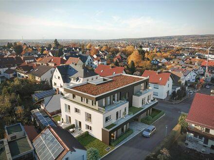 Nur noch 3 Wohnungen frei! Exklusive Neubau-3-Zi.-Gartenwohnung in AB-Schweinheim