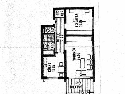 Helle Wohnung in ruhiger Lage zu vermieten