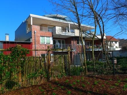 Moderne EG-Wohnung mit Erdwärme, Solar, Lüftungsanlage, Fahrstuhl und Terrasse in Gt-Innenstadt