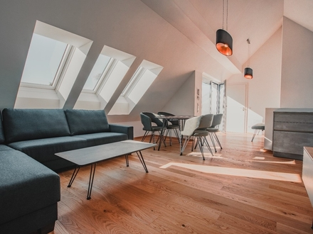 SCHALLMOOS | ERSTBEZUG KOMPLETT MÖBLIERT | 3-Zimmer-Maisonettewohnung – modern, zentral & ruhig