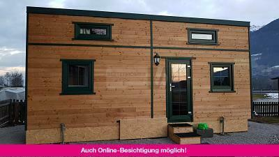 "SCHLÜSSELFERTIGES TINY HOUSE ""ALPENBLICK"""