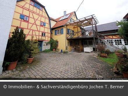Sehr großes und gemütliches Haus mit Werkstatt in Untermünkheim