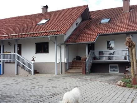 Charmantes Doppelhaus in Alleinlage
