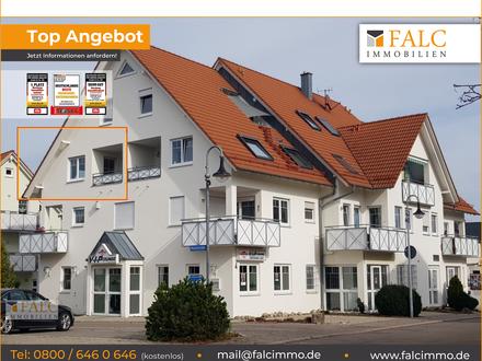 RESERVIERT - Helle, altersgerechte Dachwohnung mit schöner Loggia