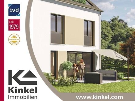 Neubau: Modernes, gut geschnittenes Einfamilienhaus (DHH) mit Terrasse und Dachloggia
