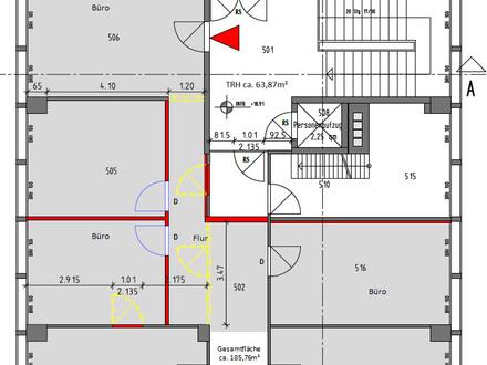 -provisionsfreie- Büro-/Praxisfläche in zentraler Lage mit Blick über Traunstein