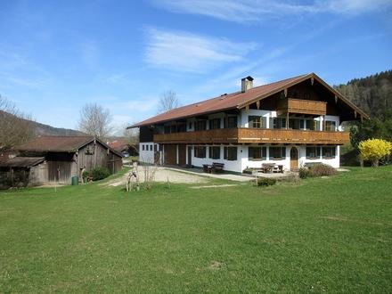 Traumlage Attraktives, landwirtschaftliches Anwesen in Ruhpolding