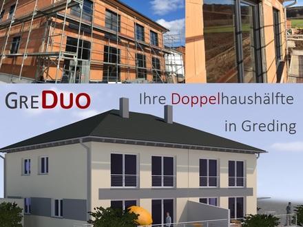 Neubau - Doppelhaus Greding