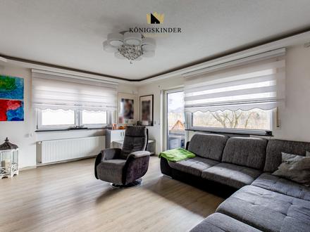 Sanierte 4-Zimmer-Wohnung mit Doppelgarage in malerischer, ruhiger Ortsrandlage von Weilheim Teck