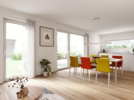 B1- Aichach-Viel Platz zum Leben: helle 4-Zimmer-Wohnung mit Garten und Terrasse