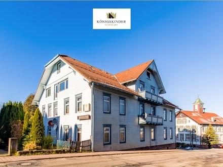 Provisionsfrei! Seltene Gelegenheit: Gaststätte, Kellerbar & Pension in zentraler Lage in Salmbach