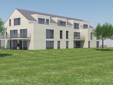 Attraktive Erdgeschoss-Wohnung mit Westausrichtung - im Neubau im Öschleweg in Aitrach!