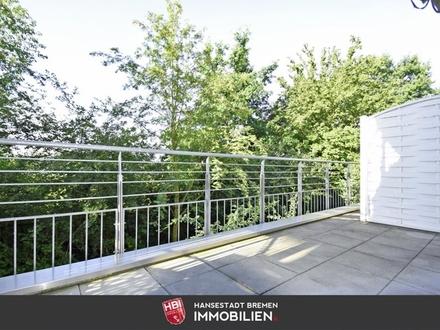 Kapitalanlage: Neue Vahr / Schöne 2-Zimmer-Wohnung mit Terrasse, Fahrstuhl und Stellplatz