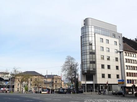 Kundenservicecenter- Handels- Ausstellungs- Büroflächen am Mainzer Hauptbahnhof.