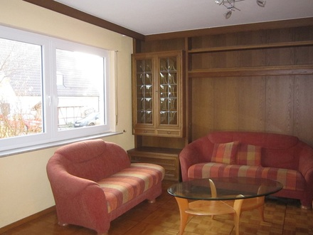 3,5 Zimmer Erdgeschoss Wohnung mit großem Garten