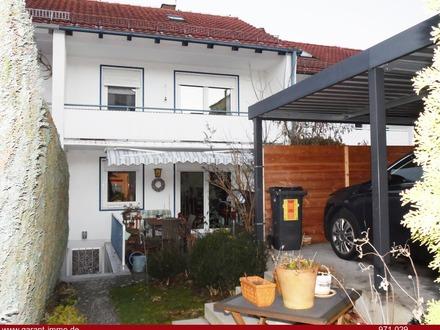 ** Reihenmittelhaus mit schöner Terrasse und Blick über Kempten **!