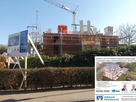 TOP-Kurortlage / nahe Zwischenahner Meer! Neubau von 5 Komfort-Eigentumswohnungen mit Terr./Balkon