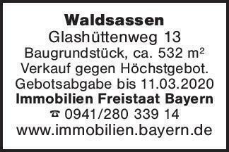 WaldsassenGlashüttenweg 13 Bau...