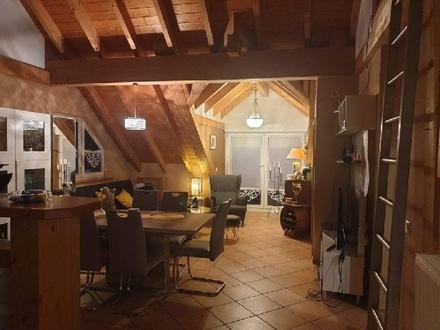 Dachgeschoss Wohnung in 54492 Lösnich, Mosel, Nähe Flughafen Hahn, WIL, BKS, Tr.-Tr.