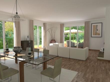 *** NUR NOCH 3,125 % COURTAGE -Hochwertiger Neubau mit Süd-Terrasse, eig. ca. 327 m² Garten ***