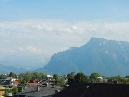 Panoramablick zum Untersberg