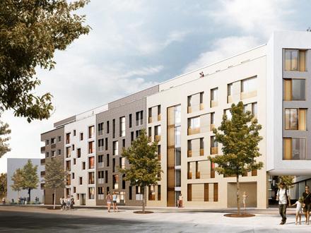 Neubau! 3-Zimmerwohnung in zentraler Lage in Ulm